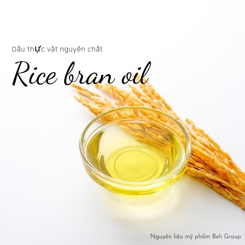 Dầu cám gạo nguyên chất